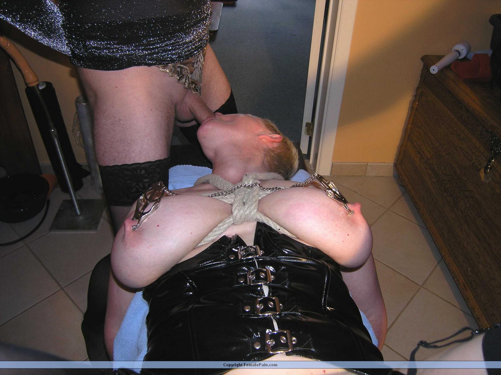 Slave Blowjob