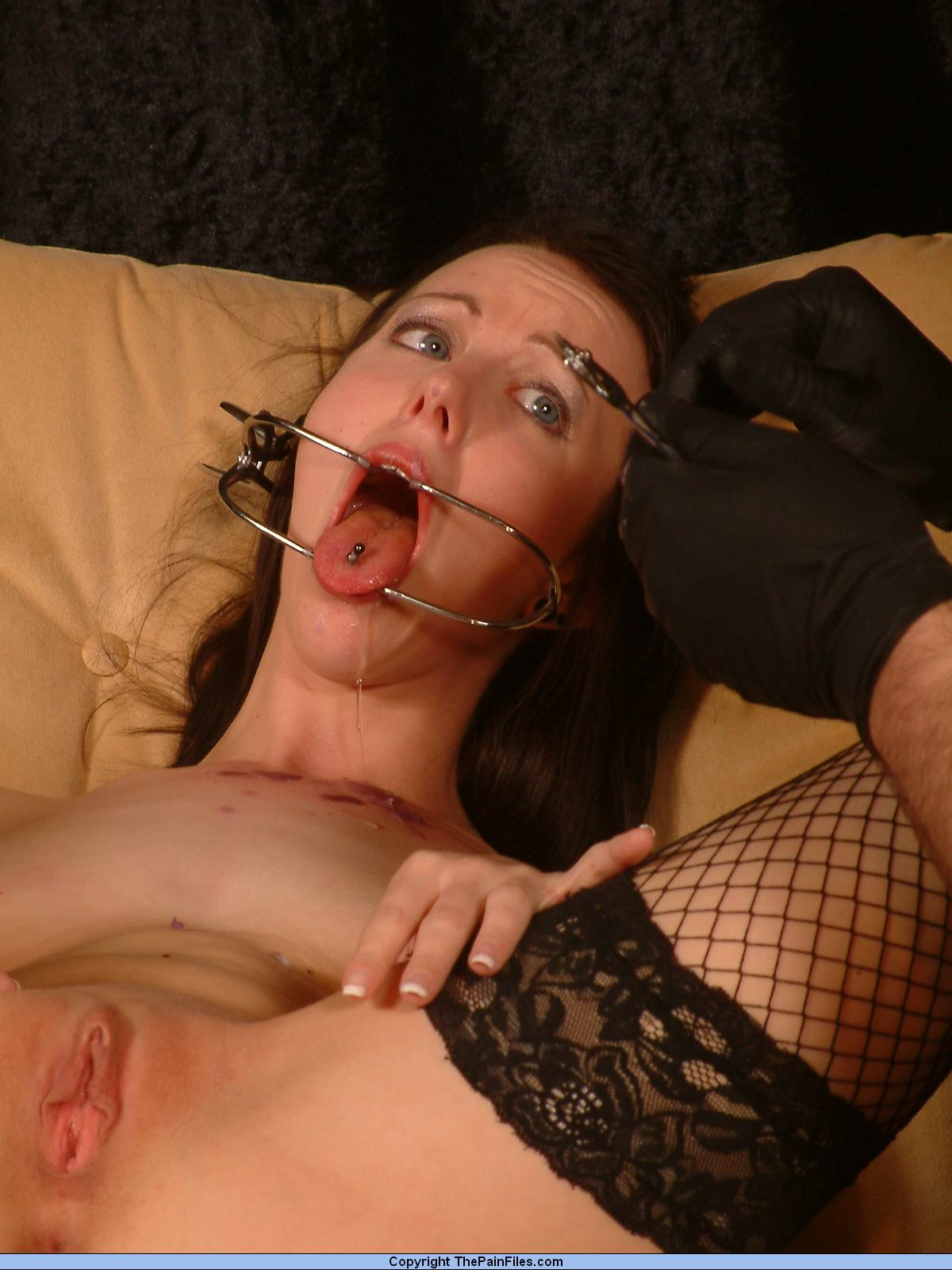 Gagged Facial Humiliation
