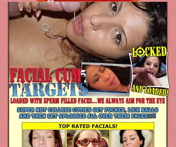Retro Bukkake: Facial Cum Targets